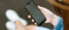 Naprawa ekranu wyświetlacza w telefonie